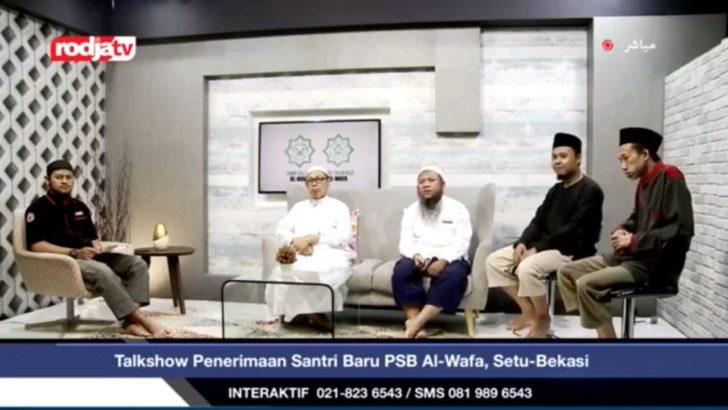Talkshow Pendidikan Salaf Sekolah dan Pesantren Islam di Radio Rodja dan Rodja TV