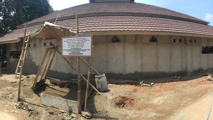 Pembangunan Masjid Jami' Umar bin Khattab