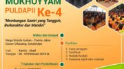 Mukhoyam ke-4 Puldapii di Mega Wisata Icakan 2020